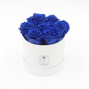 Vintage Flowerbox Ocean Blue