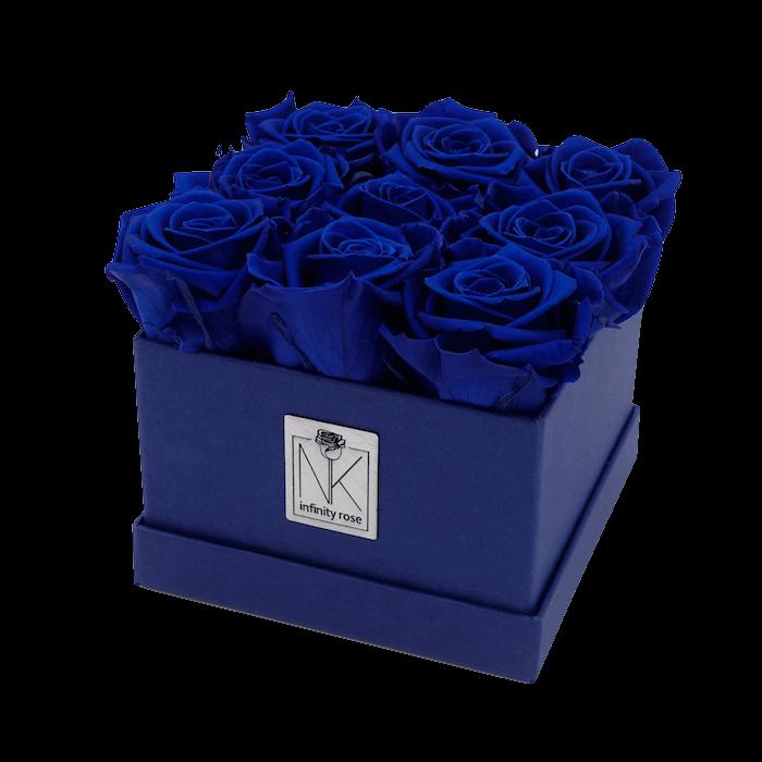 Rosenbox M - Blueberry-OceanBlue