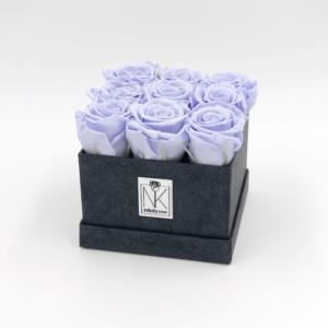 RosenboxM-Schwarz-Lavendel