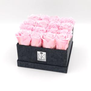 Infinity Rosenbox L - Bridal Pink