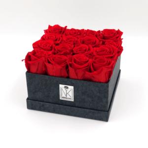 Infinity Rosenbox L - Vibrant Red